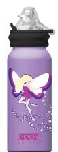 Eco Bottle Trinkflasche Designline Pink Fairy 400 ml