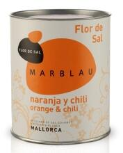 Marblau Flor de Sal Orange Chili, 150 g