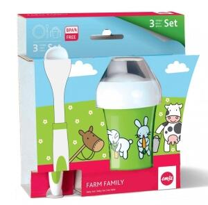 Emsa Farm Family Baby- Set, 3- teilig