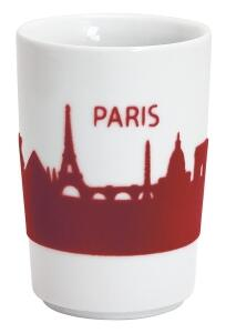 Kahla Five Senses Maxi- Becher 0,35 l in touch! rot Paris