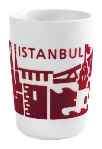 Kahla Five Senses touch! Maxi- Becher Istanbul in rot