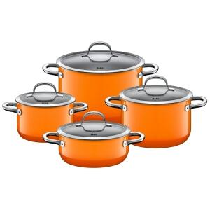 Silit Kochtopfset Passion Orange, 4-teilig