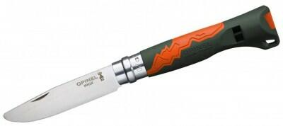 Opinel Kindertaschenmesser Nr. 7 Outdoor Junior in orange
