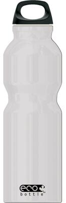 Eco Bottle Trinkflasche Basicline 1000 ml in silver metallic