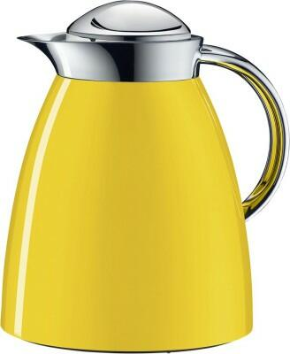 alfi Isolierkanne Gusto Tea Metall in sun yellow
