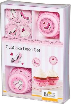 Birkmann CupCake Deco-Set Cake in the City, 36-teilig