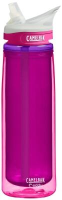Camelbak Trinkflasche Eddy 600 ml isoliert in flamingo