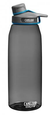 Camelbak Trinkflasche Chute 750 ml in charcoal, graue Kappe