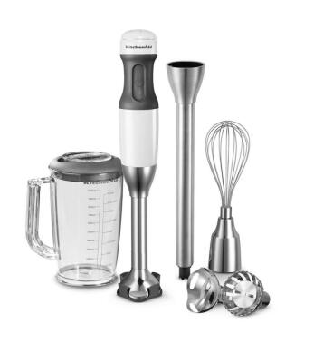 KitchenAid Stabmixer-Set Classic in weiß