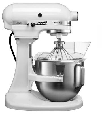 KitchenAid Küchenmaschine HEAVY DUTY in weiß, 4,8 L