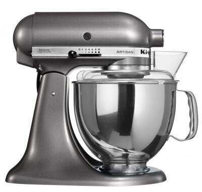 KitchenAid Küchenmaschine ARTISAN in medallion silber, 4,8 L