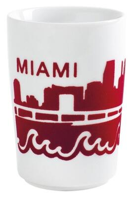 Kahla Five Senses touch! Maxi-Becher Miami in rot