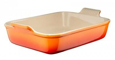 Le Creuset Auflaufform Tradition, rechteckig in ofenrot
