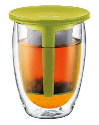Bodum Teeglas Tea For One, 0,35 l, limettengrün