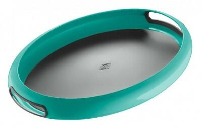 Wesco Tablett Spacy Tray oval in türkis