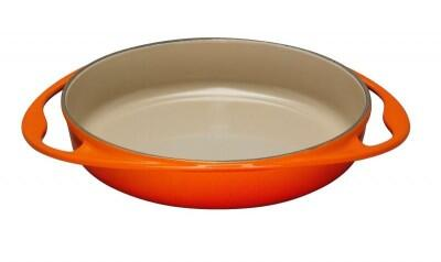 Le Creuset Tatin-Backform aus Gusseisen in ofenrot