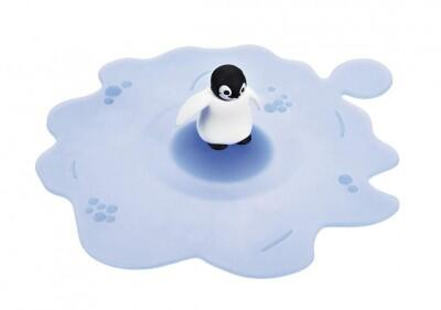 Lurch Sommerdeckel Arctic Summer Pinguin, 6er-Set