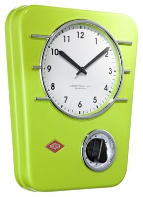 Wesco Küchenuhr in limegreen