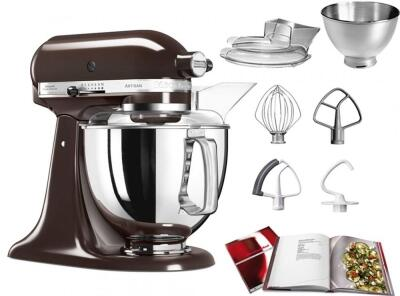 KitchenAid Küchenmaschine ARTISAN 175PS in espresso, 4,8 L