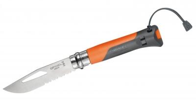 Opinel Outdoor-Messer No. 8 in orange