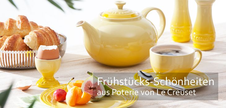 Ein guter Start in den Tag mit Le Creuset Poterie