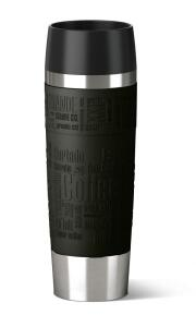 Emsa Isolier- Trinkbecher Travel Mug Grande in schwarz