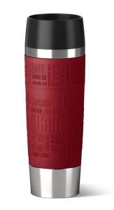 Emsa Isolier- Trinkbecher Travel Mug Grande in rot
