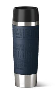 Emsa Isolier- Trinkbecher Travel Mug Grande in blau
