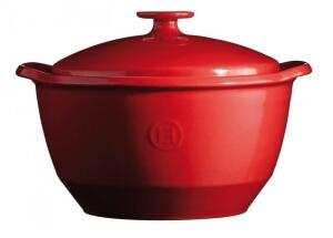 Emile Henry Kochtopf One Pot in granatapfel