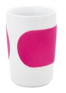 Kahla Five Senses Maxi- Becher 0,35 l in touch! magenta
