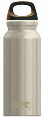Eco Bottle Trinkflasche Basicline 400 ml in pearl white
