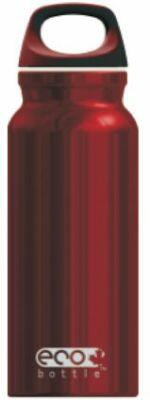 Eco Bottle Trinkflasche Basicline 400 ml in red shiny