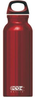 Eco Bottle Trinkflasche Basicline 650 ml in red shiny