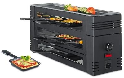 Spring Pizza Raclette6 in schwarz