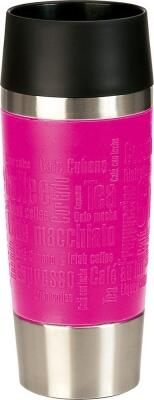 Emsa Isolier-Trinkbecher mit Manschette Travel Mug in pink