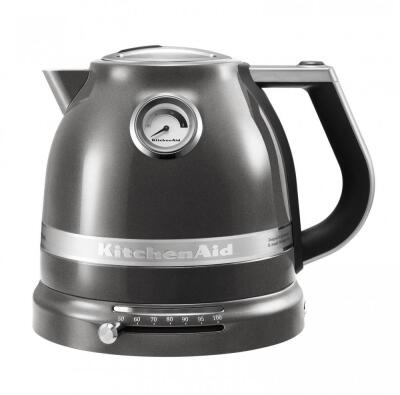 KitchenAid Wasserkocher ARTISAN medallion silber