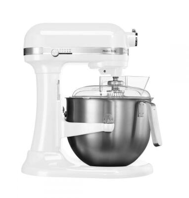 KitchenAid Küchenmaschine HEAVY DUTY in weiß, 6,9 L
