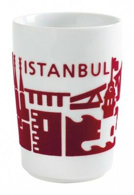 Kahla Five Senses touch! Maxi-Becher Istanbul in rot