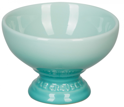 Le Creuset Dessertbecher mit Fuß in cool mint