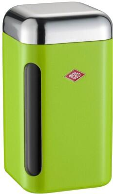 Wesco Vorratsdose eckig in limegreen