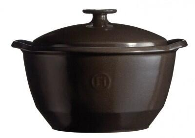 Emile Henry Kochtopf One Pot in fusain