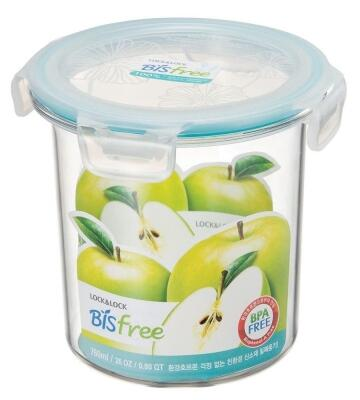 Lock & Lock Frischhaltebox Bisfree rund, 760 ml