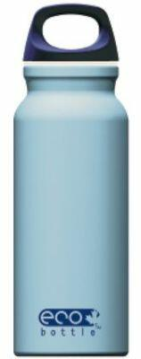 Eco Bottle Trinkflasche Basicline 400 ml in soft blue