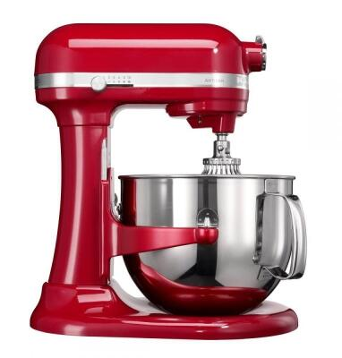 KitchenAid Küchenmaschine ARTISAN in empire rot, 6,9 L