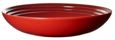 Le Creuset Suppenteller in kirschrot