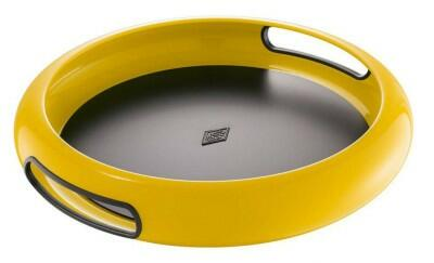 Wesco Tablett Spacy Tray rund in lemonyellow