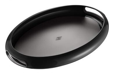 Wesco Tablett Spacy Tray oval in schwarz