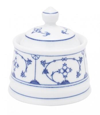 Kahla Tradition Zuckerdose 0,25 l in Blau Saks
