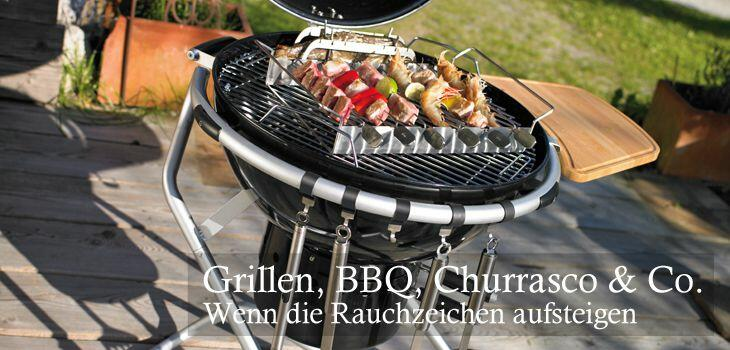 Alles für Grillen, Barbecue, Churrasco & Co
